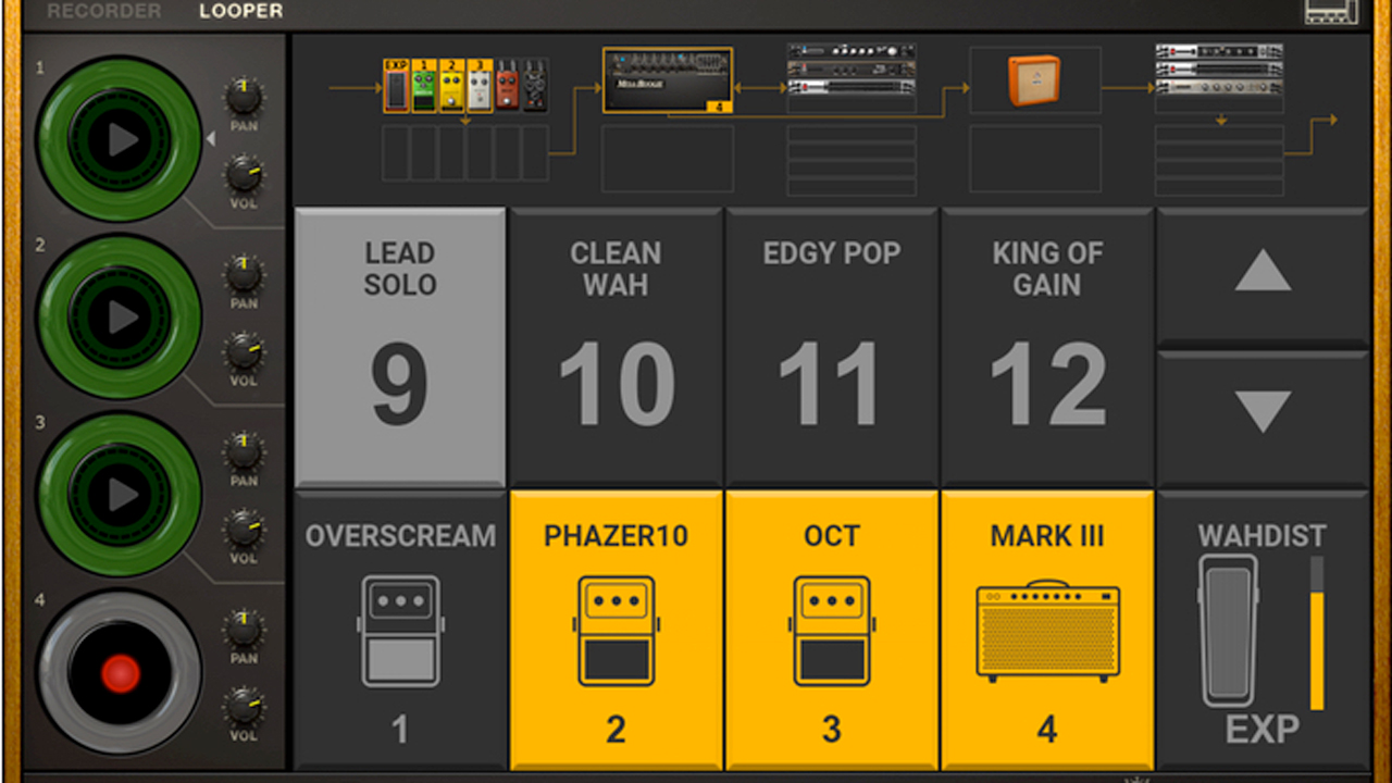 Update: IK Multimedia Amplitube v4.6 Now Available Featuring New Live mode