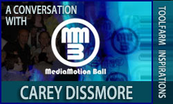 Inspirations: A Conversation With Carey Dissmore - The MediaMotion Ball