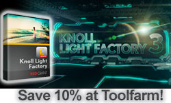 New: Red Giant Knoll Light Factory 3 and Effects Suite 11 Now available