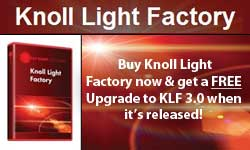 NAB 2012: Red Giant Magic Bullet Arsenal, Knoll Light Factory 3 + KLF Upgrade Offer!