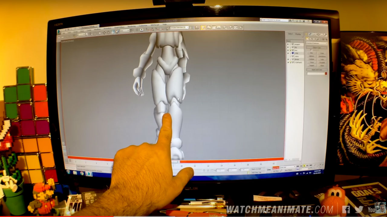 Character Animation: Adding Weight and Life to a Character's Legs in 3ds Max