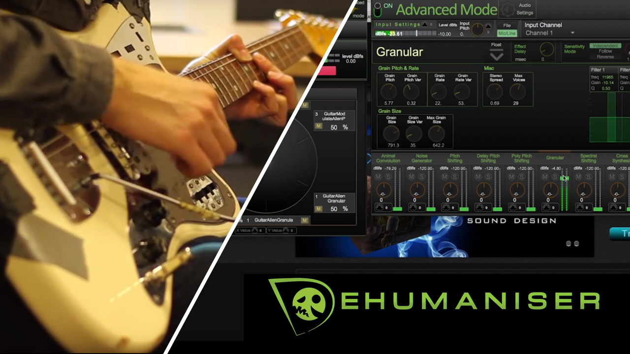 Krotos Audio: Guitar Sound Design with Dehumaniser