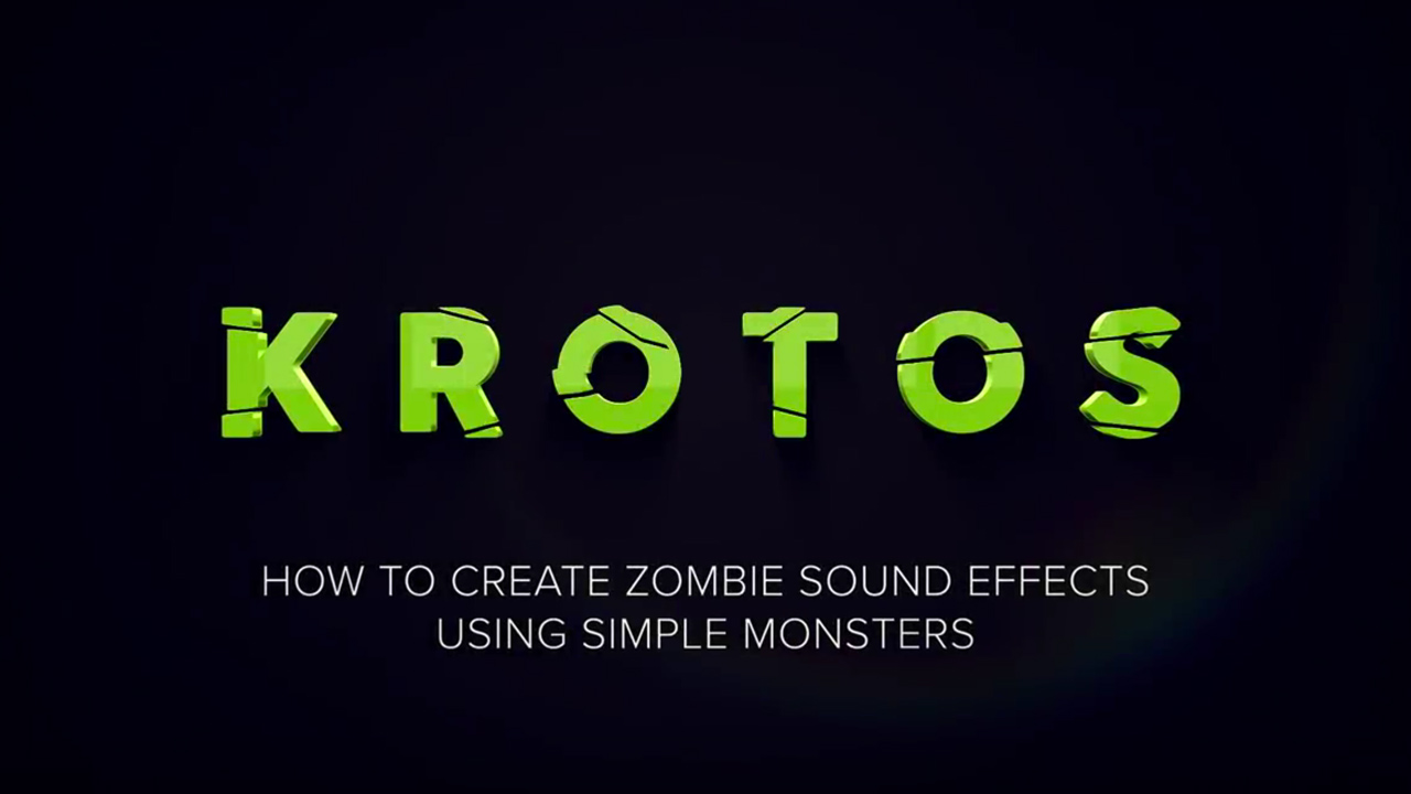 Audio: Create Zombie Sound Effects Using Simple Monsters