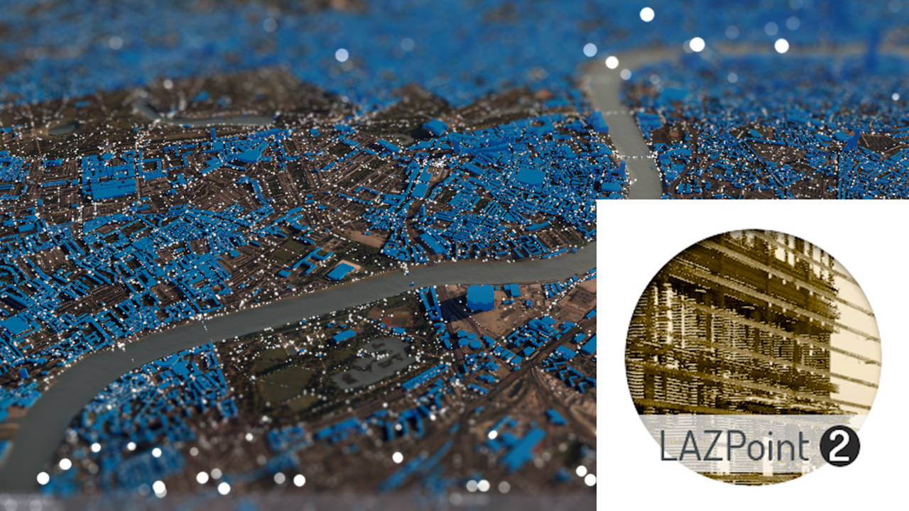 New: CinemaPlugins LAZPoint is Now Available - Lidar Point Cloud Rendering