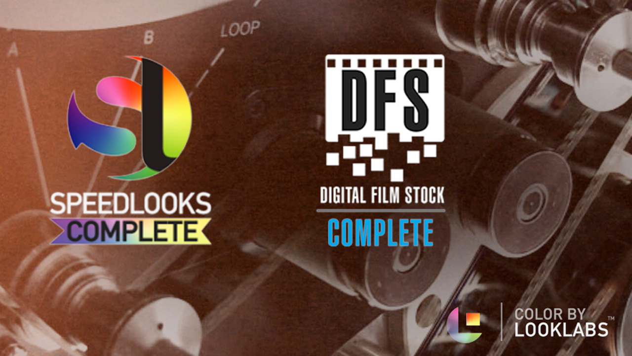 New: LookLabs SpeedLooks Complete and Digital Film Stock Now Available at Toolfarm