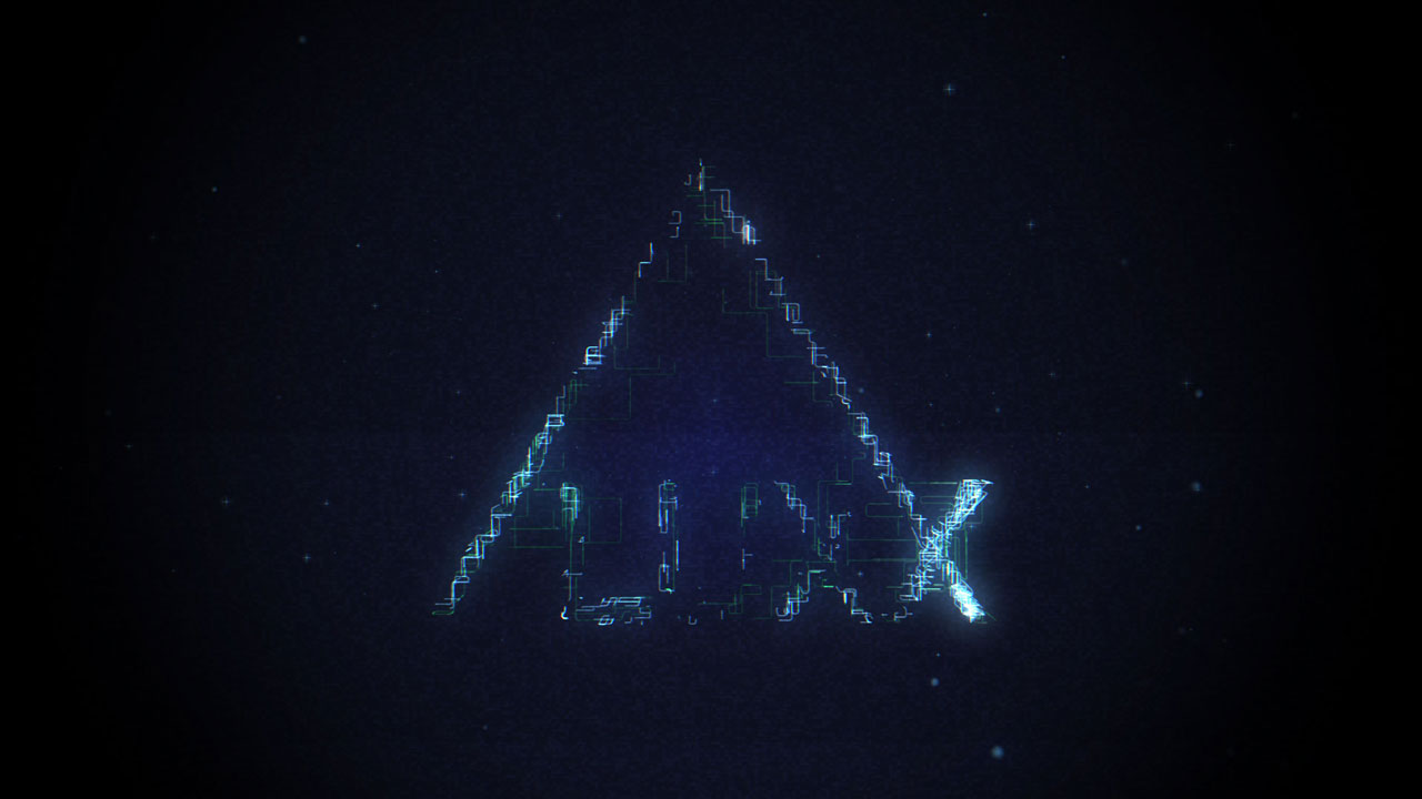 Logo Reveal with X-Particles