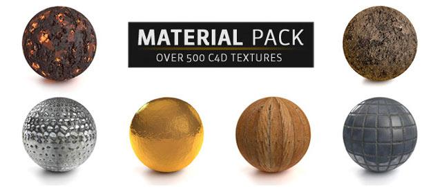 Update: The Pixel Lab Material Pack for Element 3D v2 - Toolfarm