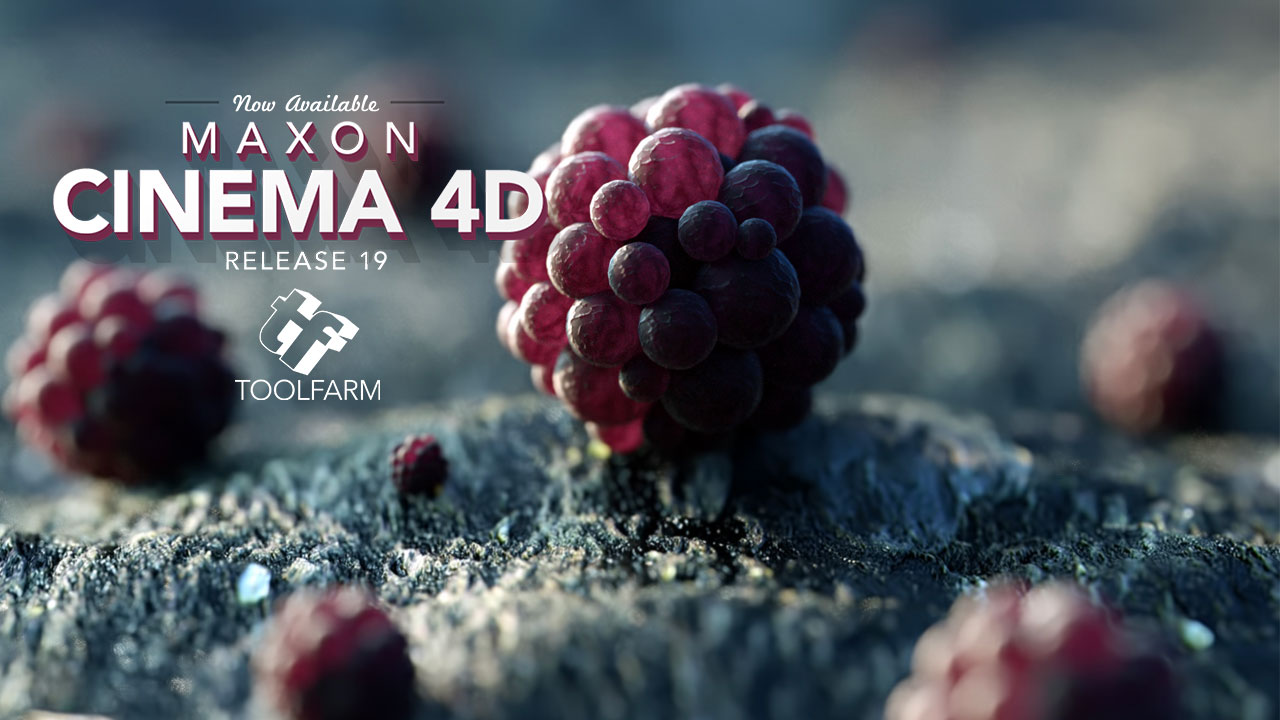 New: Maxon Cinema 4D Release 19 Now Available