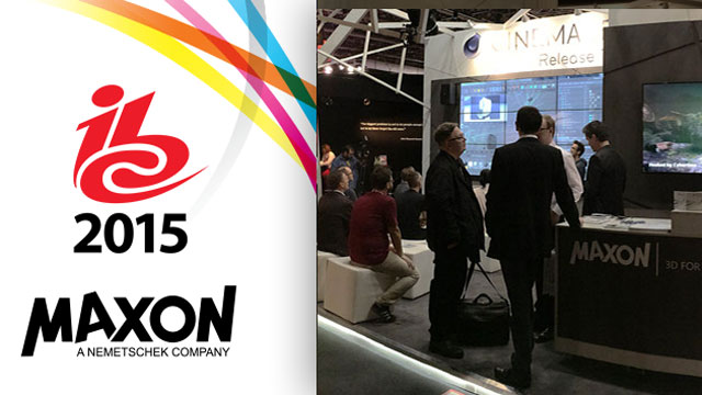 News: MAXON at IBC 2015