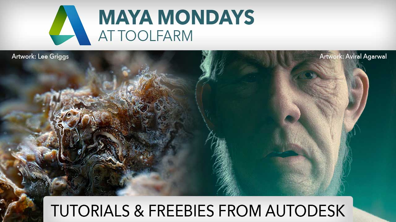 Maya Monday: Tutorials with Free Maya/Arnold Freebies