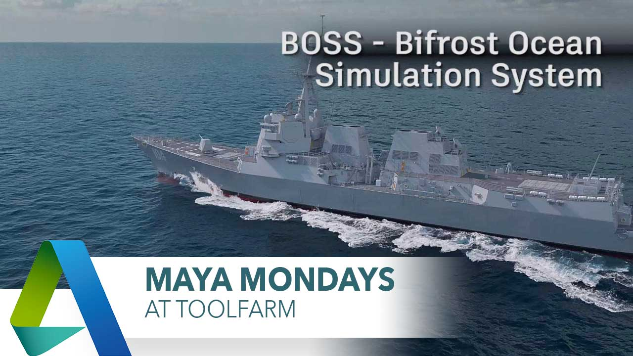 Maya Monday: Bifrost and BOSS for Fluid simulation.