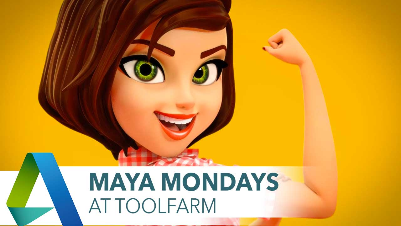 Maya Monday: Free Rigs and Rigging Software