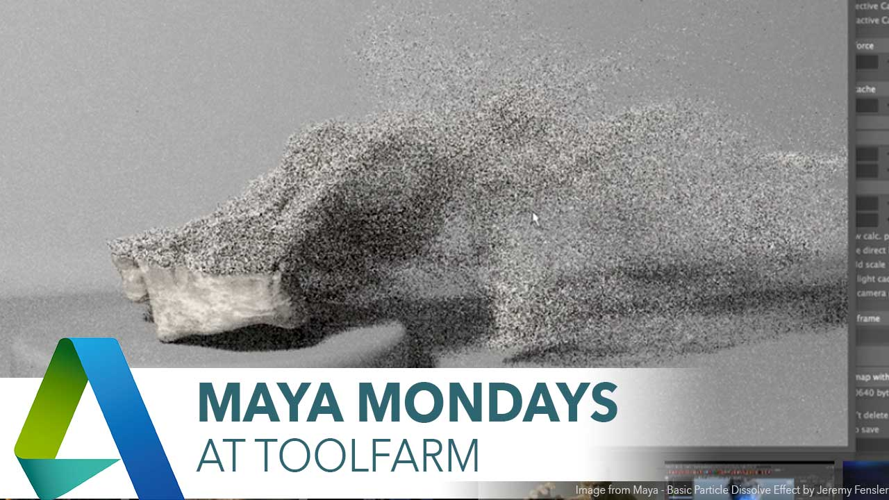 Maya Monday: Particles and Particle Plug-ins