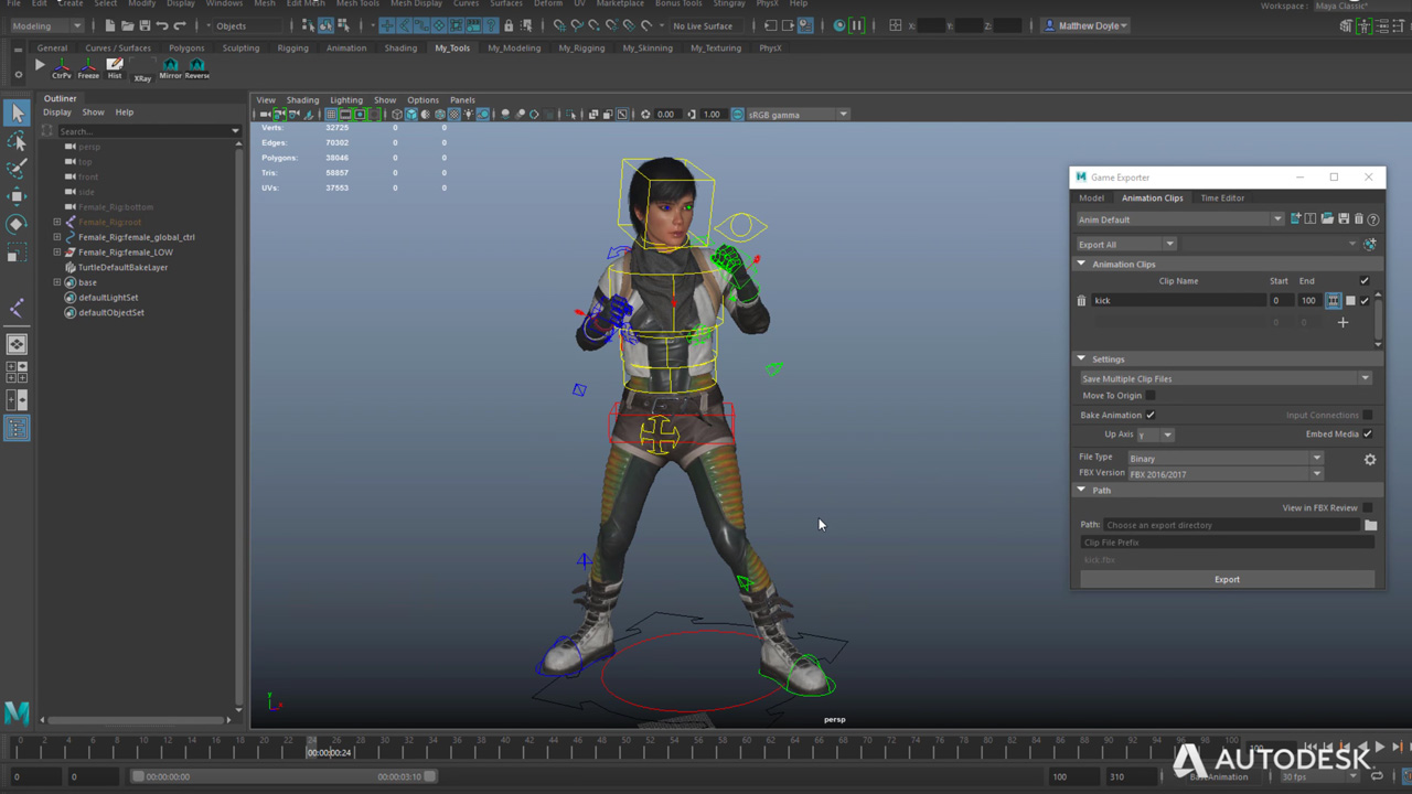 Game Engine Workflows in Autodesk Maya LT 2018