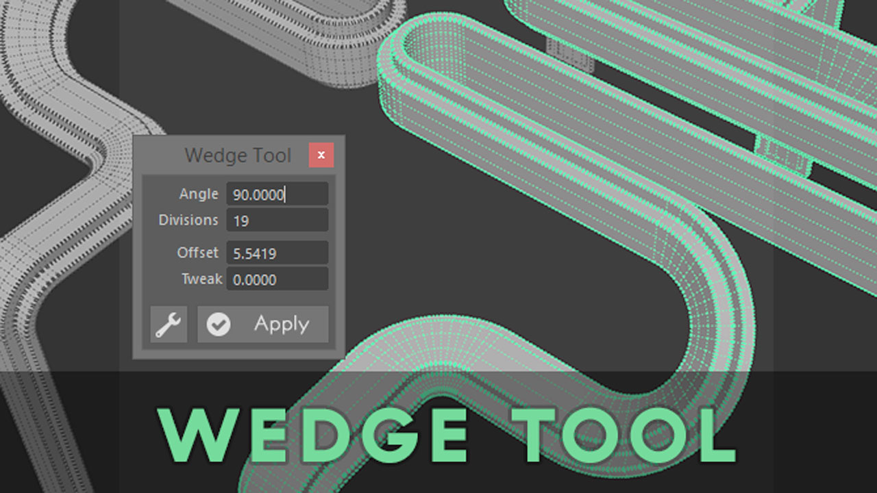 Freebie: Maya: Wedge Tool