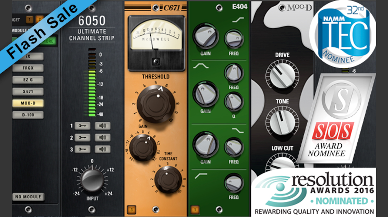 Sale: McDSP 6050 Ultimate Channel Strip Flash Sale - Only $49 Native, $79 HD
