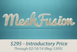 New: Luxology MeshFusion for modo - Limited Time Introductory Pricing