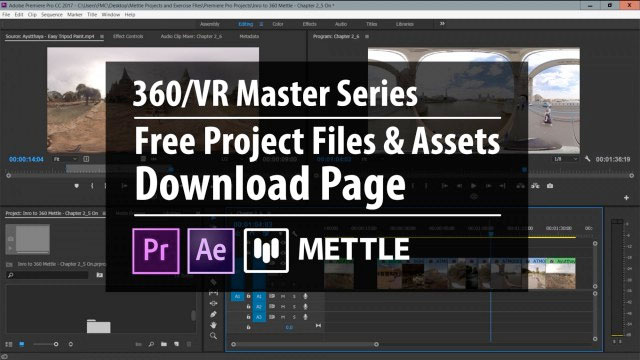 Freebie: Mettle: Free Project Files + Assets | Download Page | 360/VR Master Series