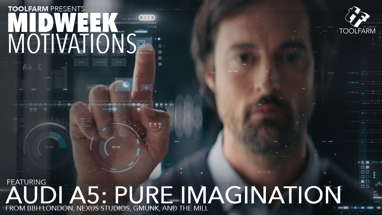 Midweek Motivations: The new Audi A5 2017 Pure Imagination Commercial