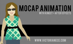 Tutorial: Kinect MoCap Animation in After Effects — Parts 1-4