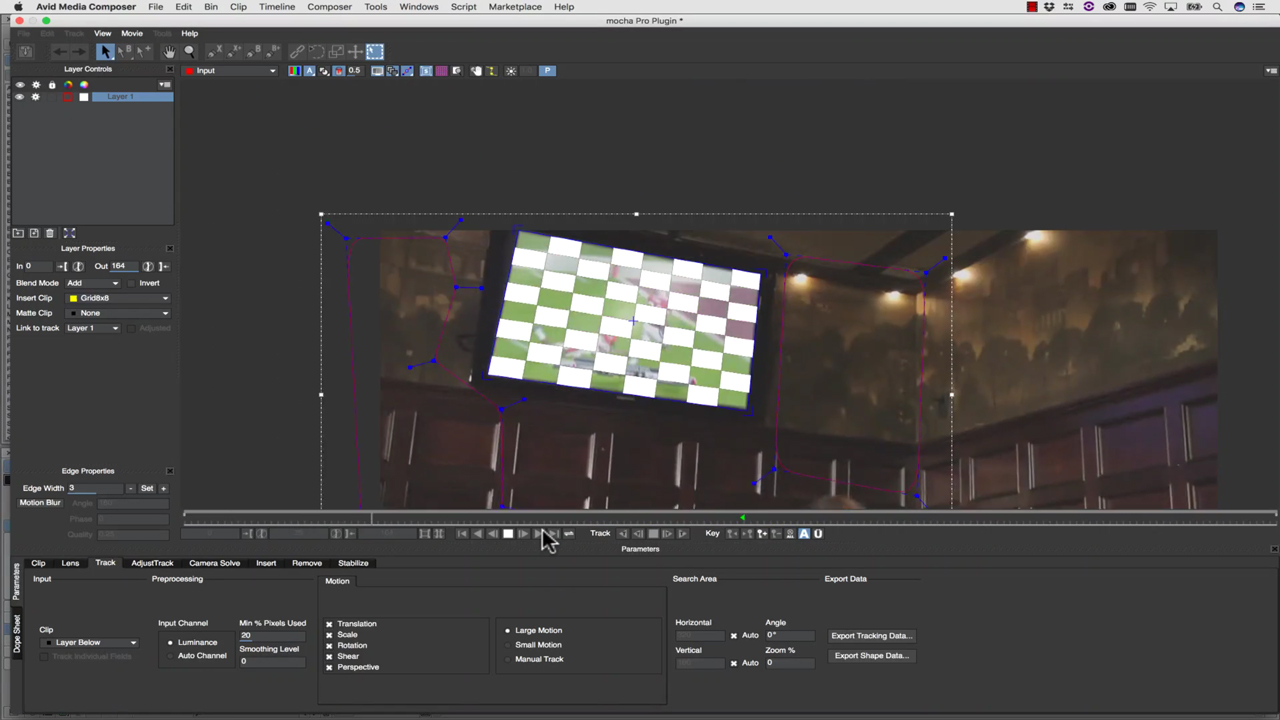 Avid: Replace Screens in Media Composer with Mocha Pro