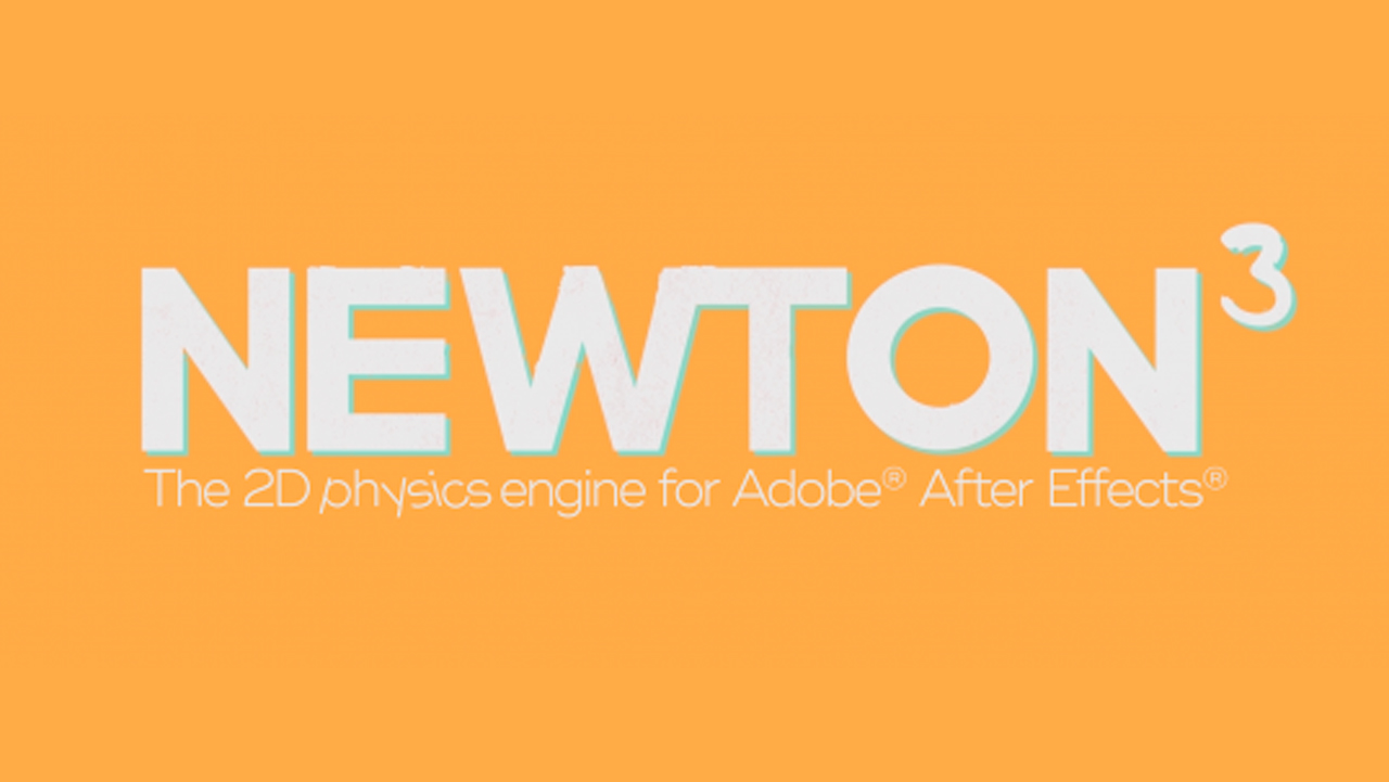 New: Motion Boutique Newton 3 for After Effects is Now Available