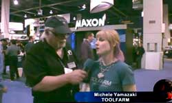 Interview with Michele Yamazaki of TOOLFARM at NAB 2012
