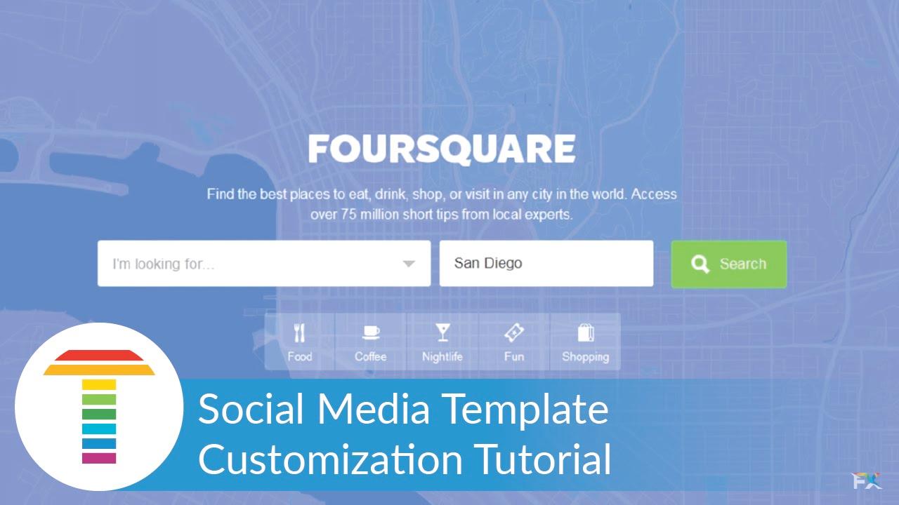 NewBlueFX: Social Media Template – Customization