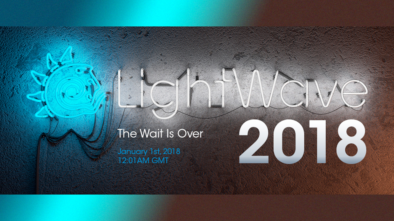 Coming Soon: NewTek LightWave 3D 2018 – Available January 2018