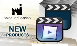 New: Noise Industries Products- Tokyo Split for Final Cut Pro X; Nattress Video Scrapbook