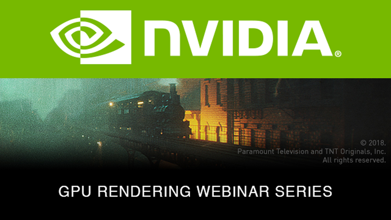 Webinar: NVIDIA: Elastic Uses GPU Rendering with Octane for The Alienist Title Sequence