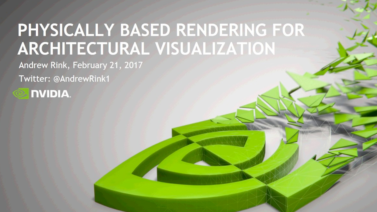 Webinar Replay: NVIDIA: Transform Your Workflow with Physically Based Materials