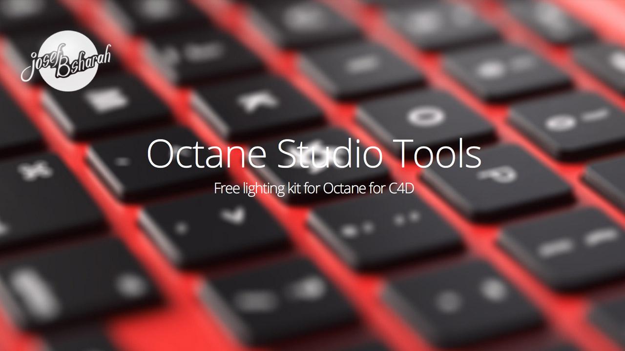 Freebie: Octane Studio Tools - Lighting Kit for Octane