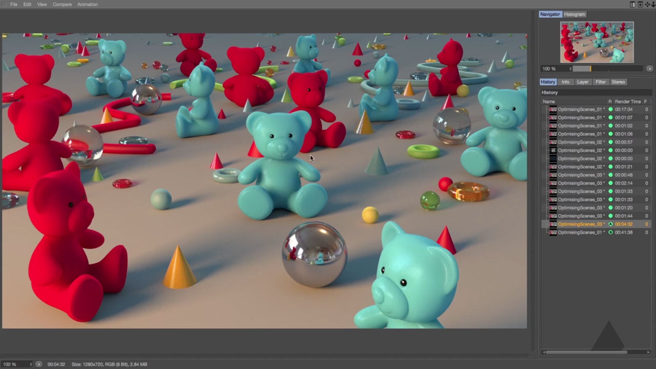 Optimizing Scenes in Cinema 4D
