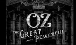 Inspirations: Oz the Great and Powerful Title Sequence