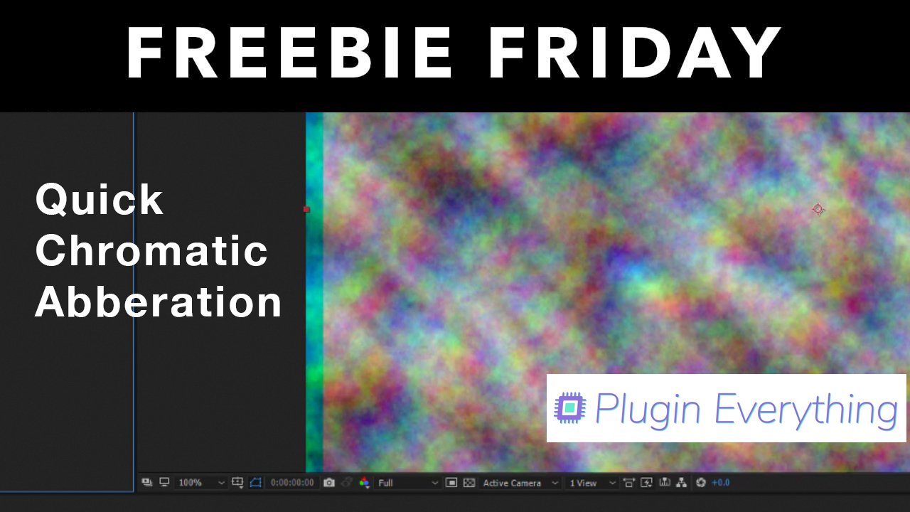 Freebie: Quick Chromatic Aberration for After Effects  | Plugin Everything