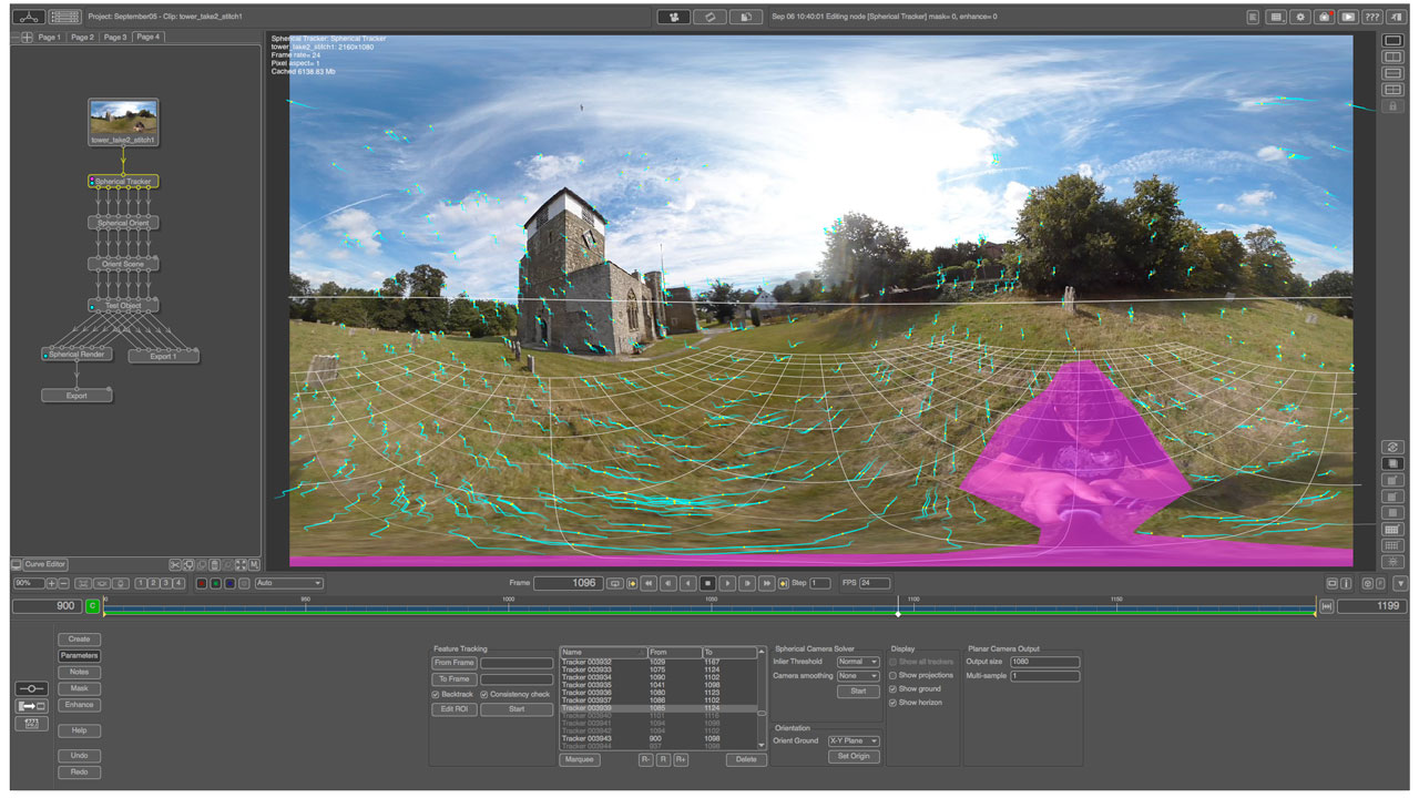 News: The Pixel Farm PFTrack2016 Adds 360 Camera Tracking