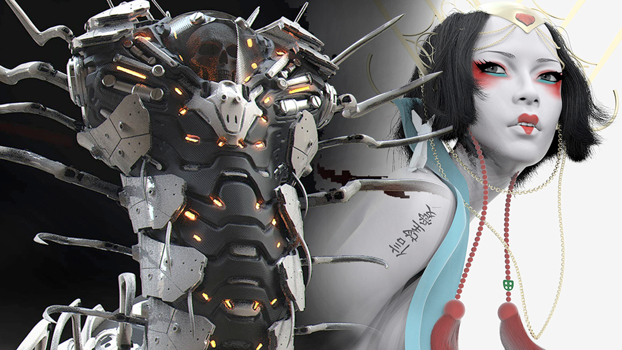 Midweek Motivation: Live ZBrush Sculpt Off Entries and Winners