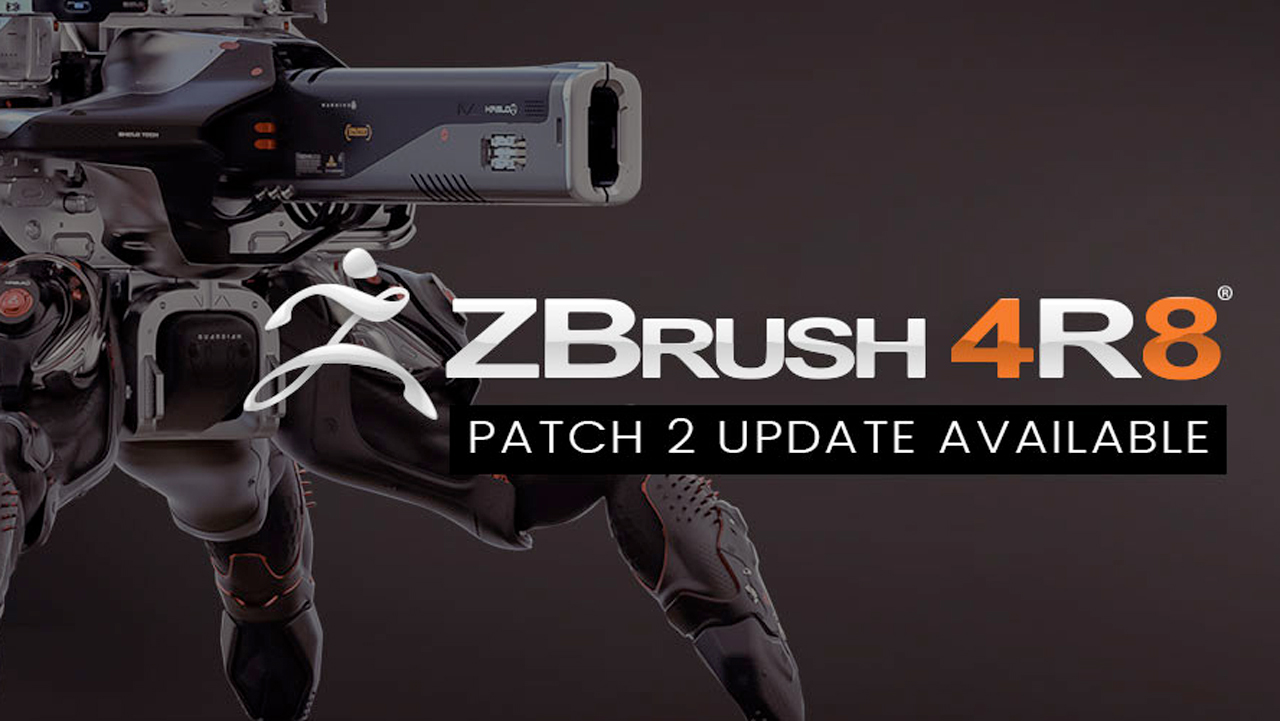 Update: Pixologic ZBrush 4R8 Update 2 Now Available