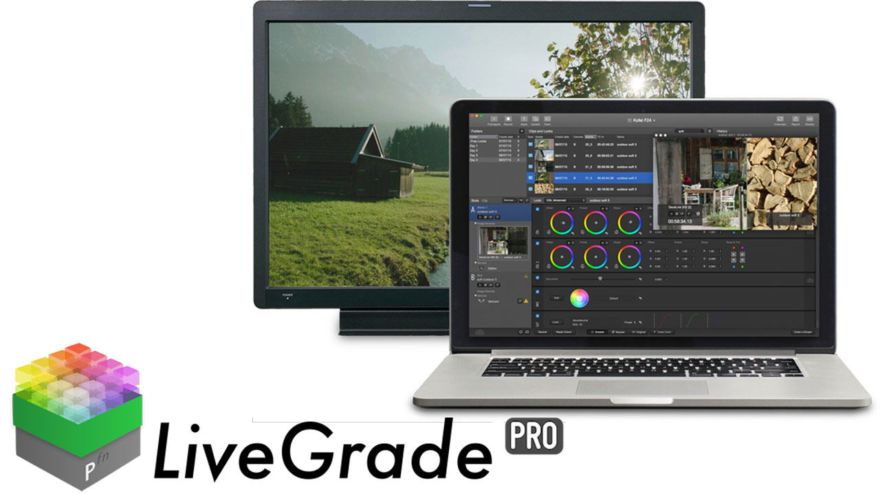 """Update selected Look and Replace Image"" shortcut in Pomfort LiveGrade"