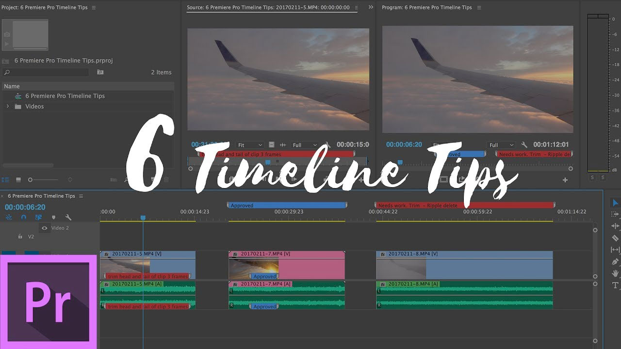 Premiere Pro: Timeline Tips to Speed Up Workflow and Stay Organized