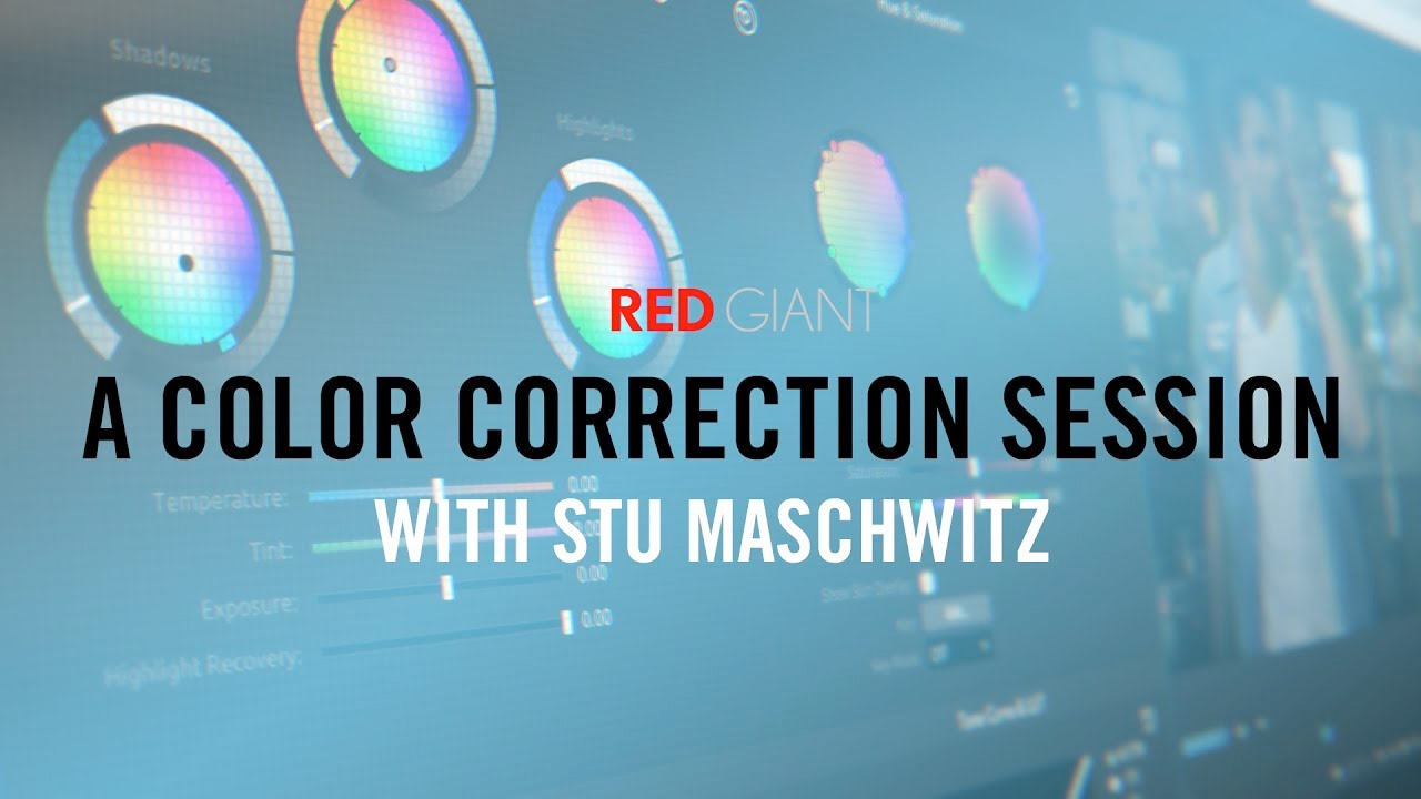 Premiere Pro: A Color Correction Session with Stu Maschwitz – Colorista IV