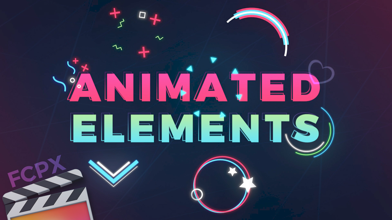 PremiumVFX Animated Elements for FCPX #gettingstarted