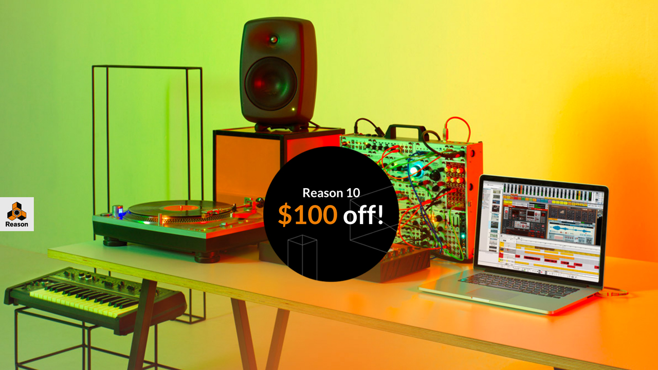 Update/Sale: Propellerhead Reason 10.0.1 – $100 Off New Licenses