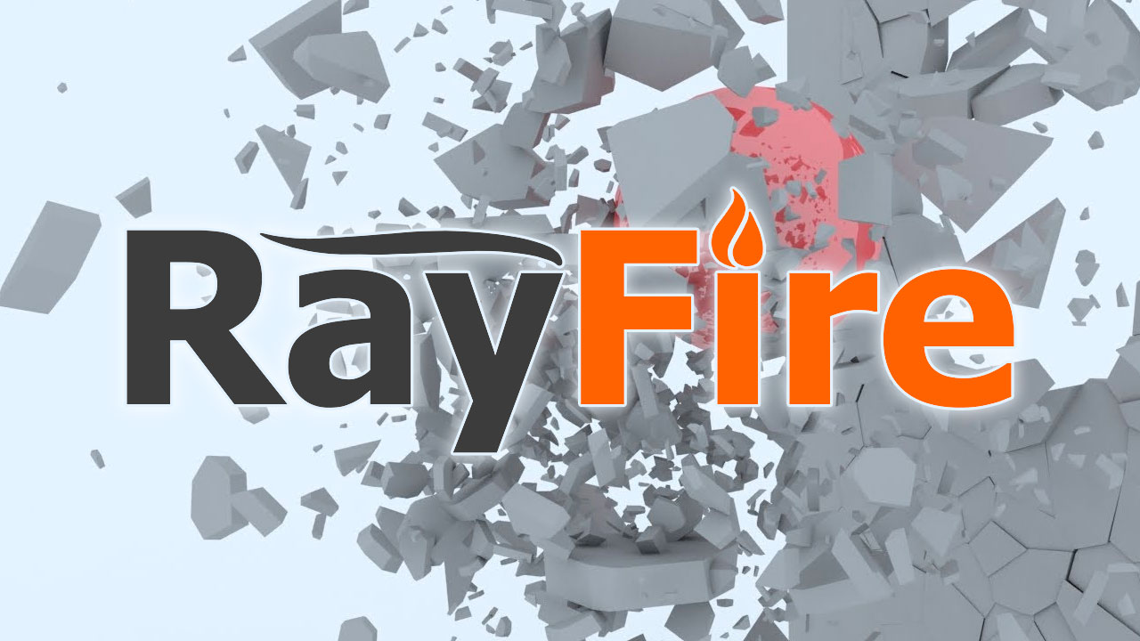 RayFire Shatter Modifier for Autodesk 3ds Max