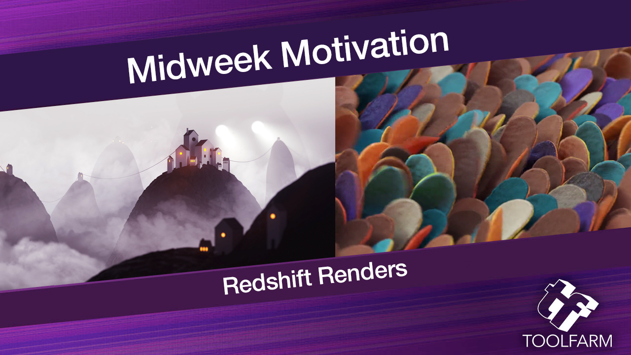 Midweek Motivation: Redshift Renders