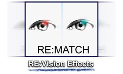 New: RE:Vision Effects RE:Match for Adobe After Effects & Premiere Pro