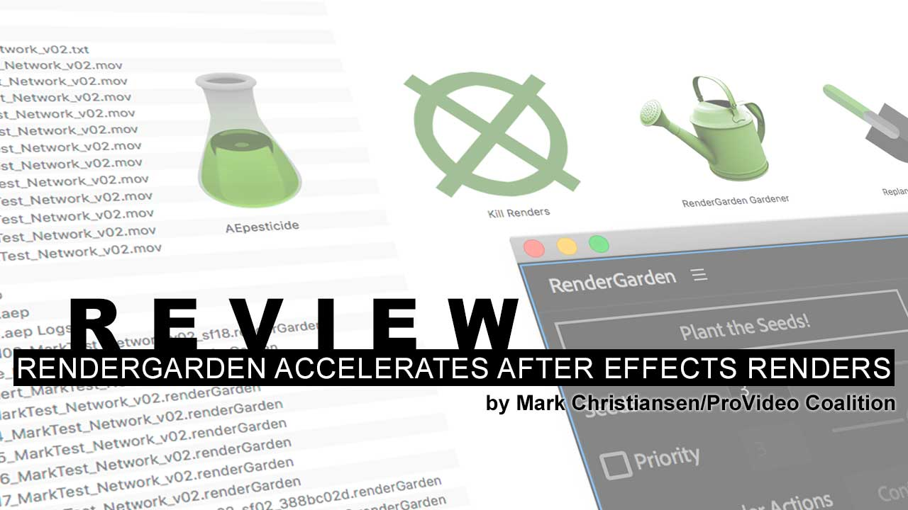 Review: RenderGarden accelerates After Effects renders