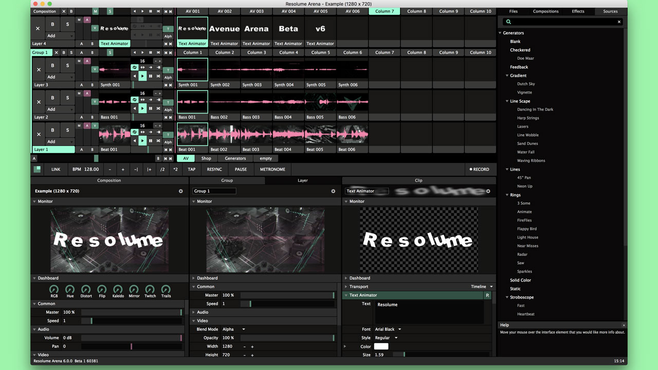 Beta: Resolume Avenue and Arena 6 Available in Beta
