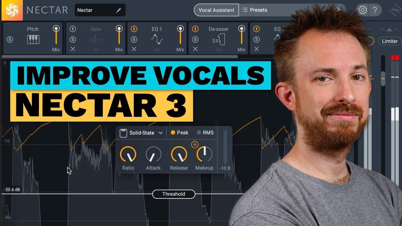 Review: Improve Vocals - iZotope Nectar 3 Demo and Review - Toolfarm